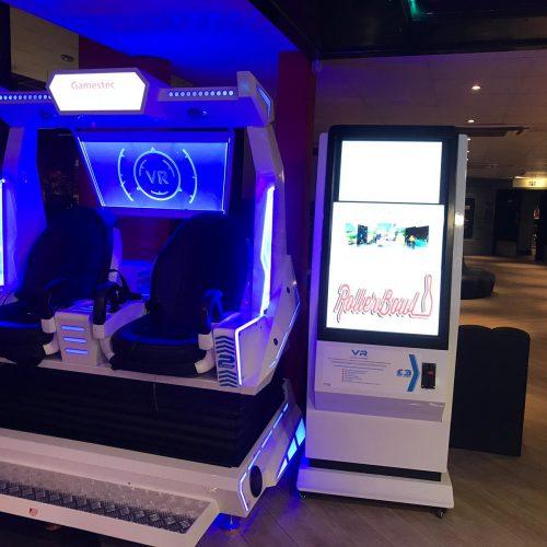 New Virtual Reality Machine Arrives