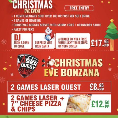 Christmas Eve Event – Free Entry