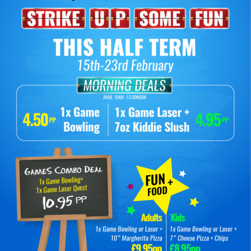 Half Term Deals